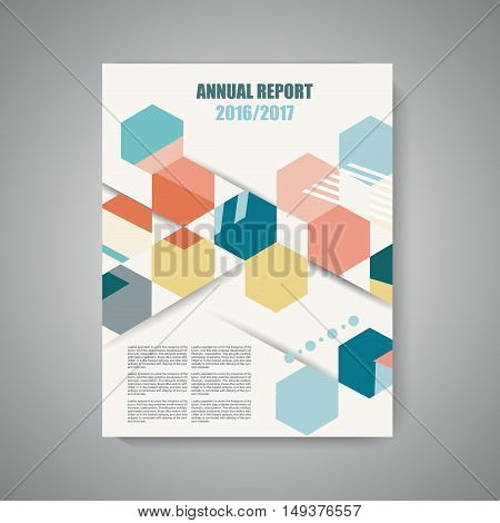 Vector Design Of Magazine Cover