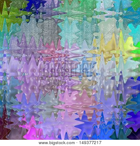 Abstract coloring background of the abstract background with visual lighting, pinch,wave,plastic wrap,spherize and mosaic effects.Good for your project design