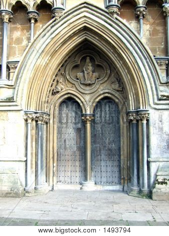 Side Entrance Wells Cathedral O7