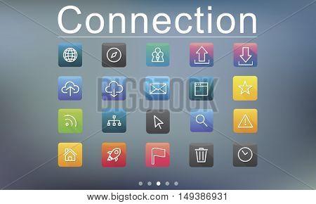 Application Cloud Network Communication Internet Concept