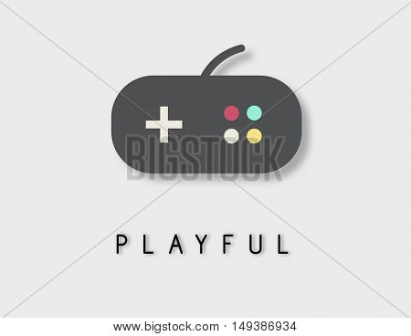 Playful Game Leisure Enjoyment Concept