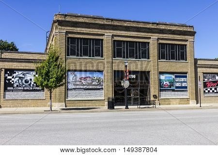 Indianapolis - Circa September 2016: Allison Plant One is the sole remaining original manufacturing related building in Speedway I