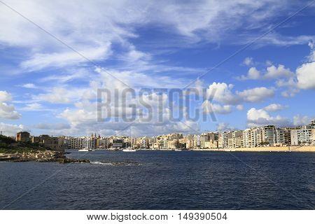 View Of Sliema, Malta