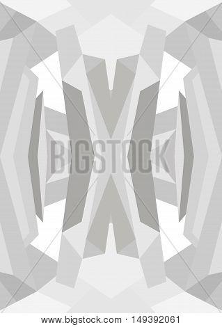 multicolor gray geometric triangular low poly style gradient illustration