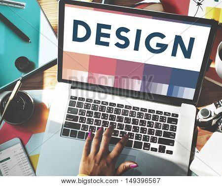 Create Creativity Ideas Design Concept