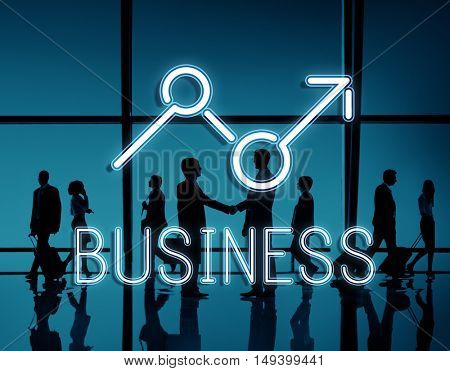Finance Rise Profit Opportunities Economics Business Concept