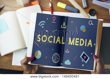Networking Communication Online Social Multimedia Concept