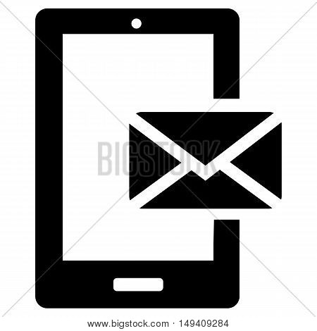Smartphone email or sms icon business envelope metro vector