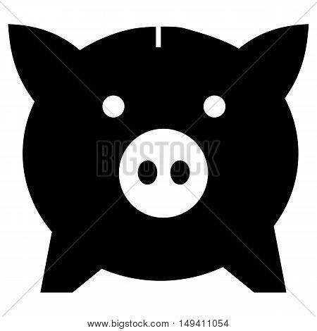 Vector piggy bank icon banking save savings piggy bank