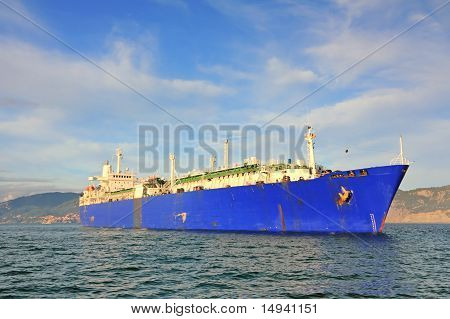Gas Tanker Ship, Lng