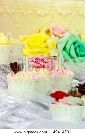 Sweet Wedding Cupcakes.