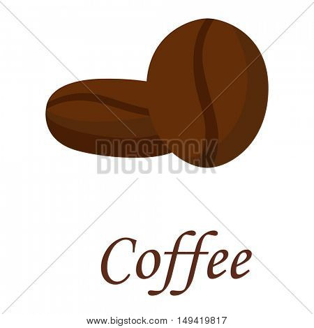 Coffee beans vector illustration.