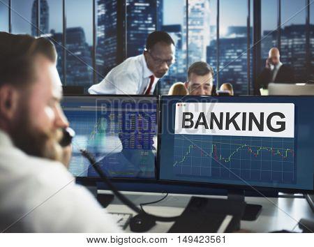 Stock Exchange Marketing Business Economics Concept