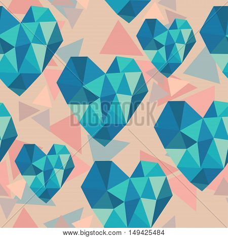 Heart Triangle Texture.eps