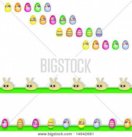 Ostern dekorative Set