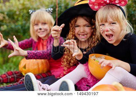 Halloween anger