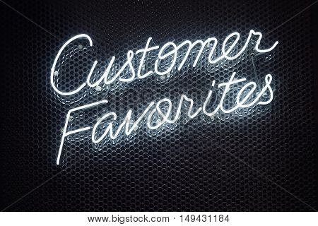 Neon Lettering font script Light type Retail shop Business Signage Customer Favorites