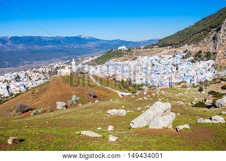 Chefchaouen In Morocco