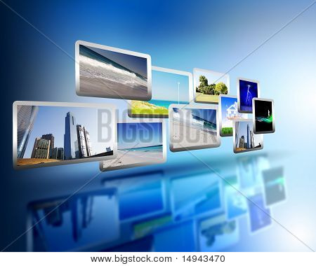 Mediastream der Hochtechnologie