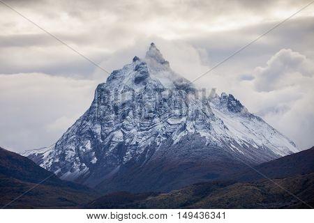 Mountains Near The Ushuaia