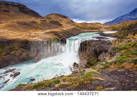 The Salto Grande Waterfall