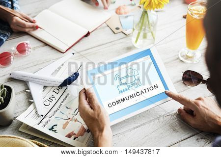 Social Media Networking Online Connection Communication Concept