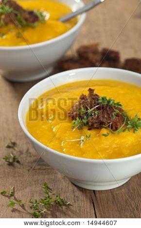 Pumpkin Celeriac Soup