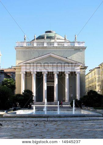 S. Antonio Church in Trieste, Italy