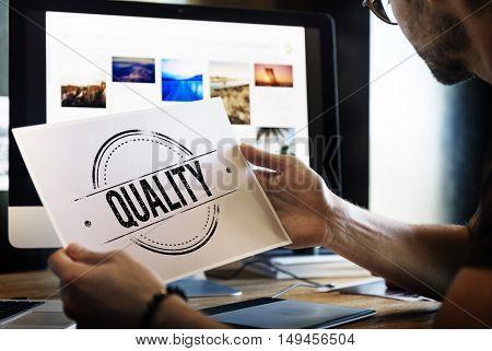 Best Quality Design Graphic Concept