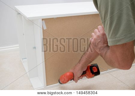 Building new flat pack furniture at home