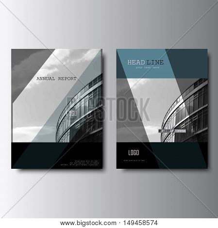 Modern brochure deisgn, annual report cover. Vector leaflet creative design, flyer template. Magazine cover