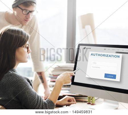 Authorization Permission Accessible Security Concept