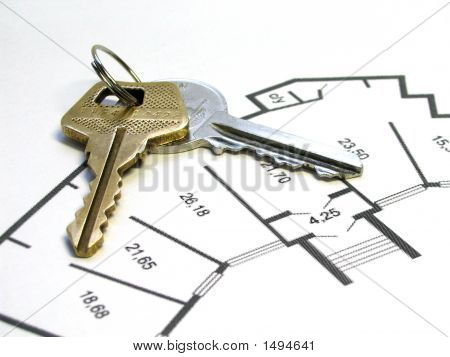Keys On Apartment Plan