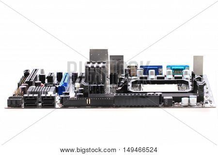 Computer Motherboard Isolated