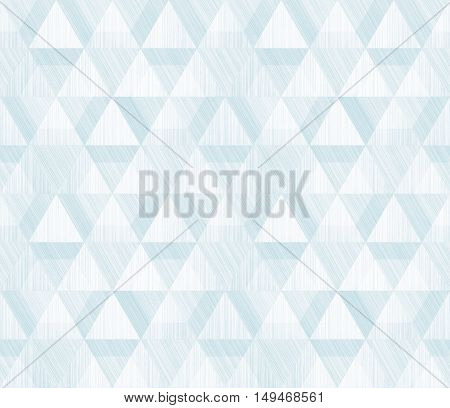 Blue and white geometric sacral polygonal grunge textured art background