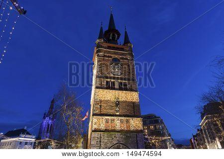 Belfry of Kortrijk. Kortrijk Flemish Region Belgium