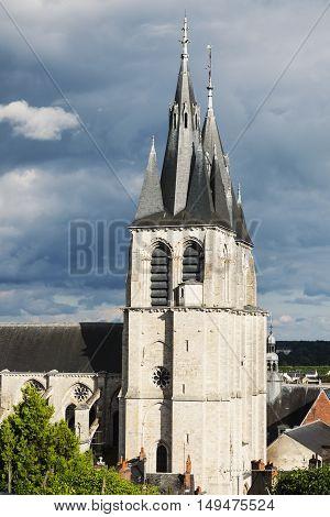 St. Nicolas Church in Blois. Blois Pays de la Loire France
