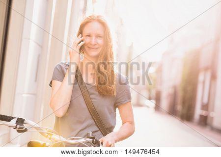 Urban Life - Talking On Mobile Phone