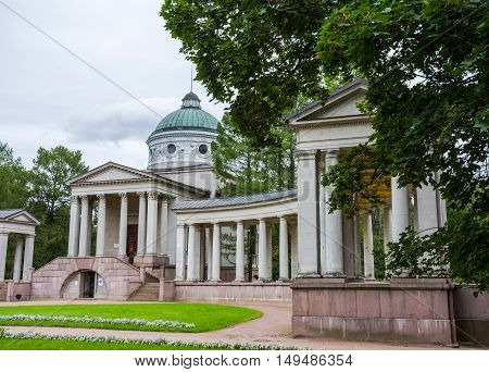 Temple-tomb Yusupov in Manor