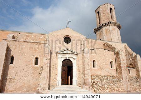 Saint Laurent Church, Marseille, France.