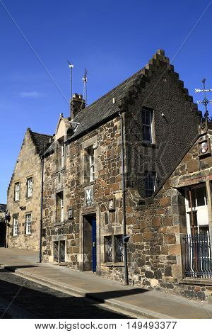 Ancient Houses In Stirling