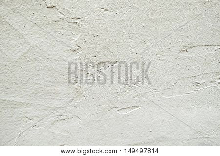 White wall texture or background with scrapes