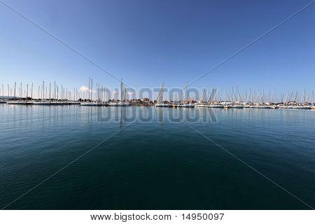 Marine on the Adriatic Sea