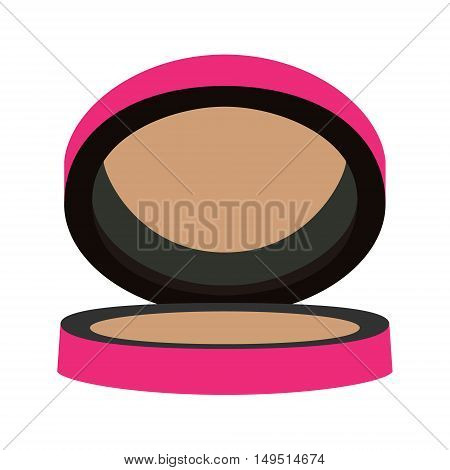 compact blush bronze purple vector isolated illustration