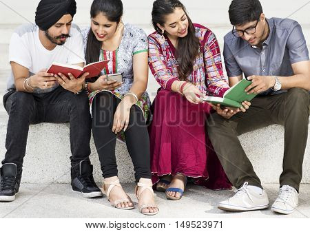 Group Discussion Education College Together Concept