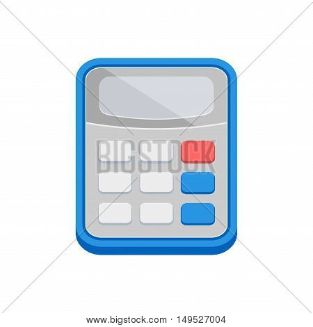 Color Calculator icon. Vector illustration isolated on white background.