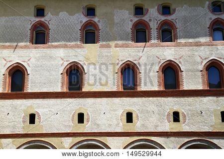 Castello Sforzesco Is A Castle In Milan