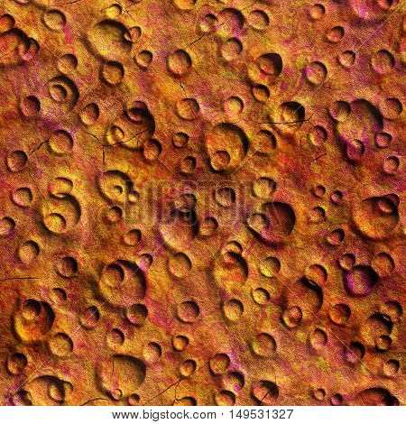 Seamless Texture surface Mars high resolution background