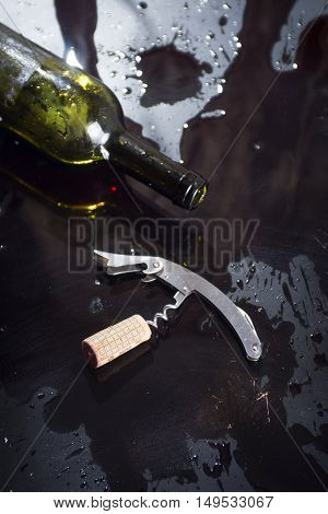 Wine And The Cork