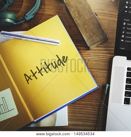 Positive Attitude Life Simple Concept